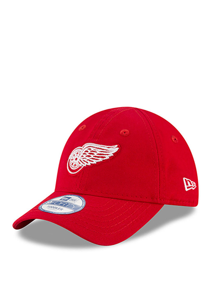 New Era Detroit Red Wings Baby My First 9Forty Adjustable Hat - Red - Image 1