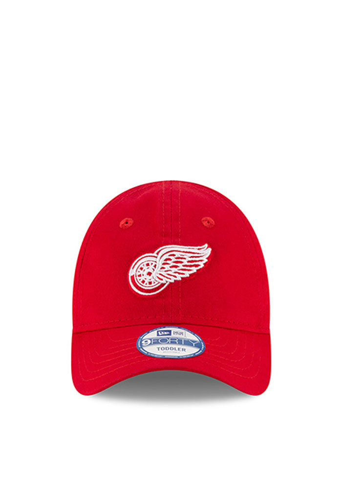 New Era Detroit Red Wings Baby My First 9Forty Adjustable Hat - Red - Image 2