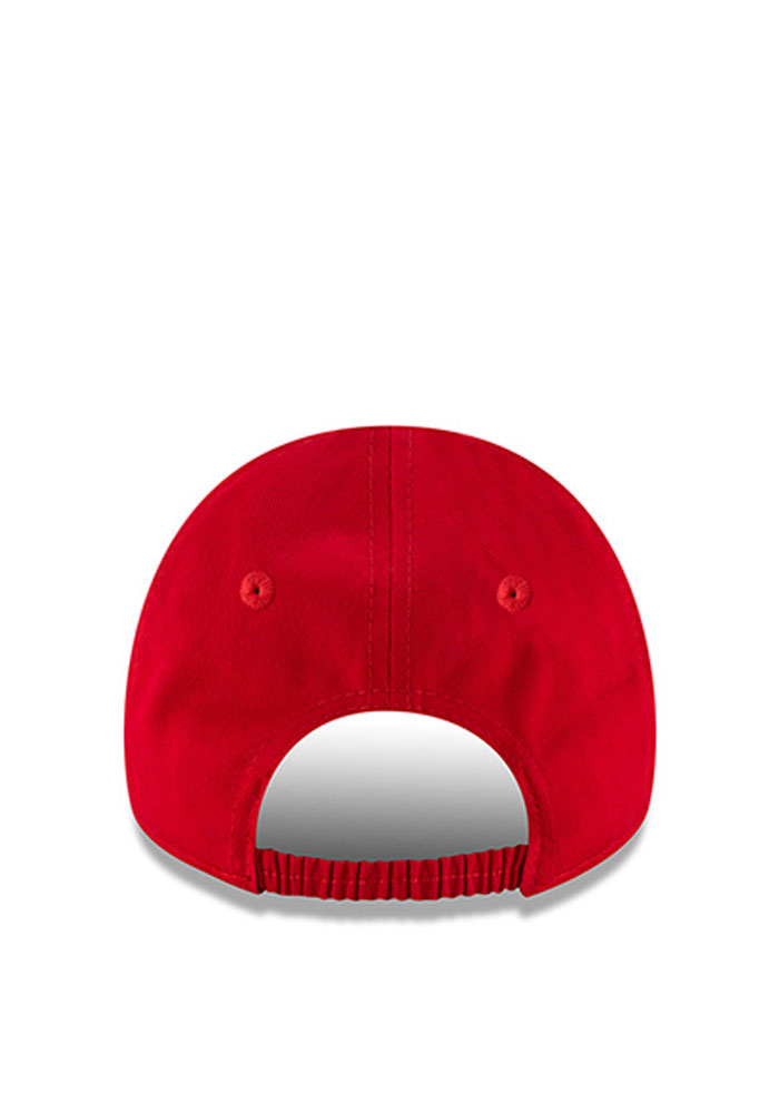 New Era Detroit Red Wings Baby My First 9Forty Adjustable Hat - Red - Image 3
