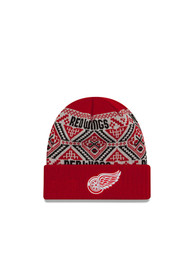 New Era Detroit Red Wings Red Cozy Cuff Knit Hat