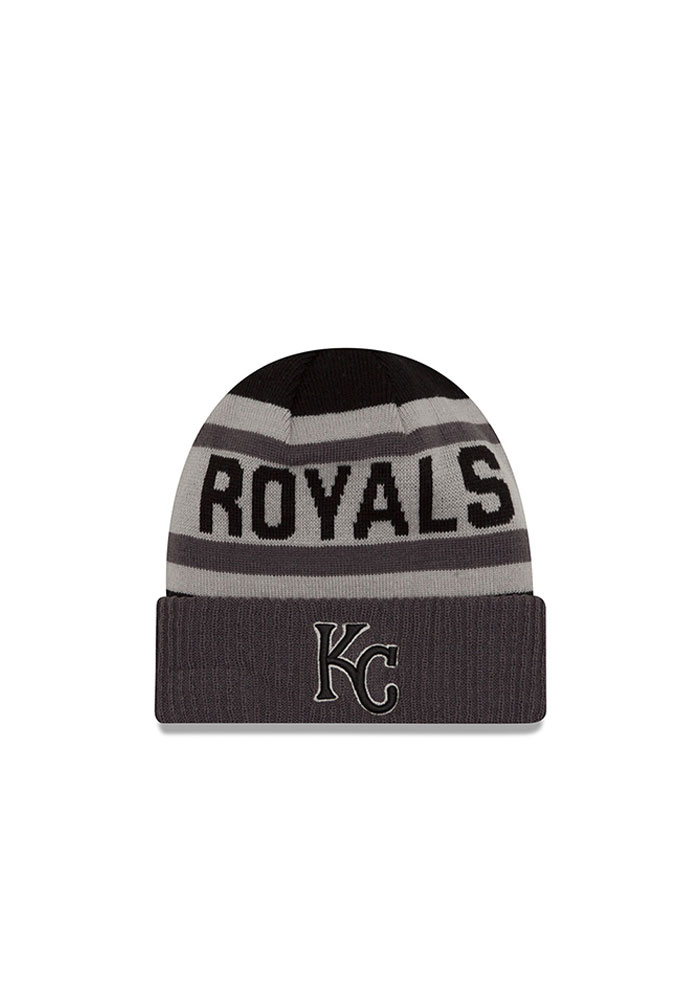 competitive price f9f9e 6b462 ... switzerland new era kansas city royals grey biggest fan 2.0 mens knit  hat image 1 b9d4e ...