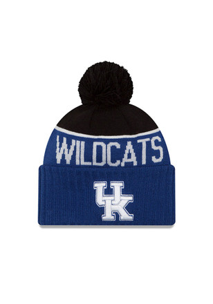 New Era Kentucky Wildcats Blue Ne 15 Sport Knit Hat