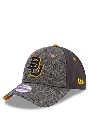 New Era Baylor Bears Grey The League Shadow 9FORTY Kids Adjustable Hat