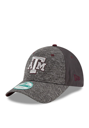 New Era Texas A&M Aggies Grey The League Shadow 9FORTY Kids Adjustable Hat