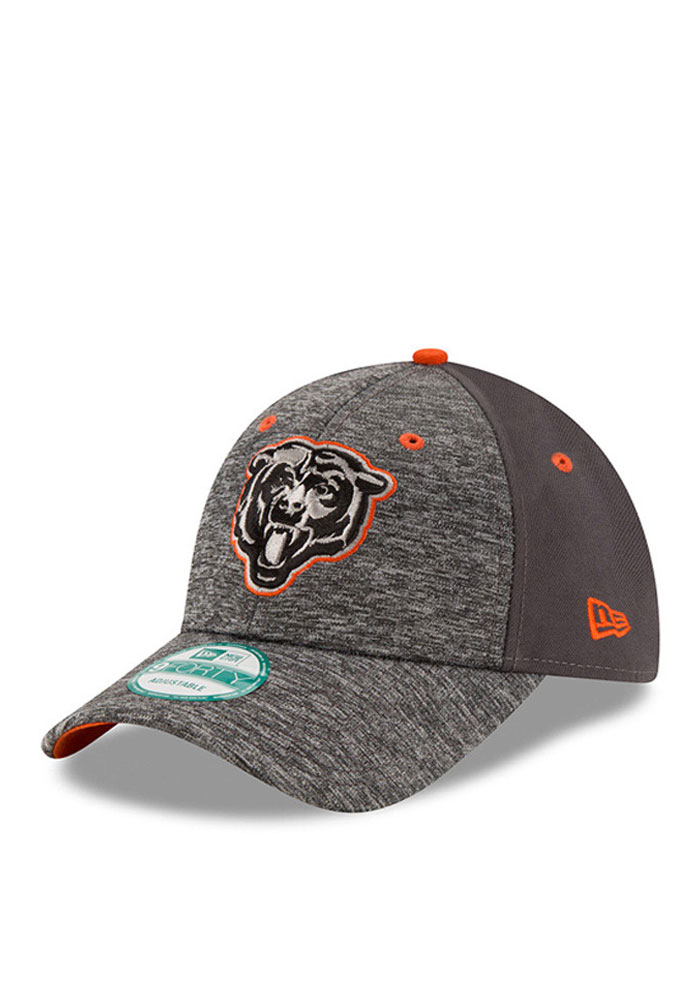 New Era Chicago Bears Grey The League Shadow 9FORTY Kids Adjustable Hat - Image 1