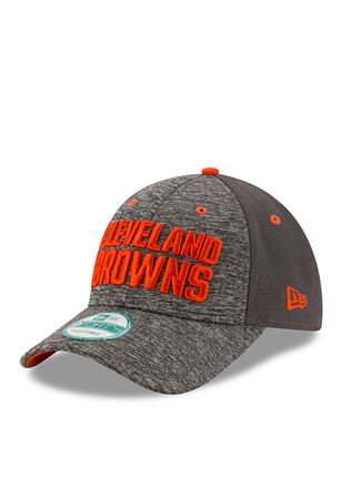 New Era Cleveland Browns Grey The League Shadow 9FORTY Kids Adjustable Hat