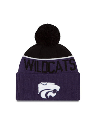 New Era K-State Wildcats Purple NE 15 Sport Kids Knit Hat