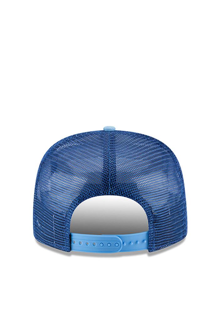 New Era Kansas City Royals Blue Throwback Stripe 9FIFTY Mens Snapback Hat - Image 3
