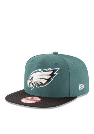 New Era Philadelphia Eagles Green 2016 Sideline Official 9FIFTY Snapback Hat