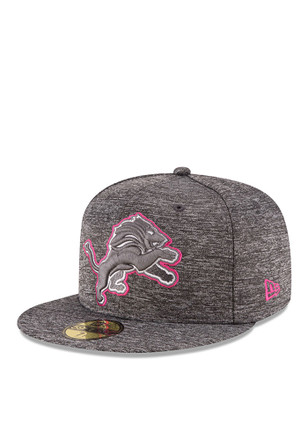 Detroit Lions New Era Mens Grey 2016 BCA 59FIFTY Fitted Hat