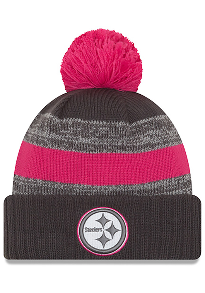 official photos eb91e 0ac5f ... mens steelers 2017 salute to service cuffed knit hat olive size 2bf21  77bc2  spain new era pittsburgh steelers grey 2016 bca pom knit hat d3625  df465