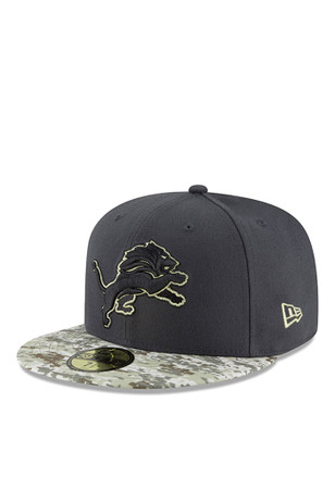 Detroit Lions New Era Mens Green 2016 STS 59FIFTY Fitted Hat