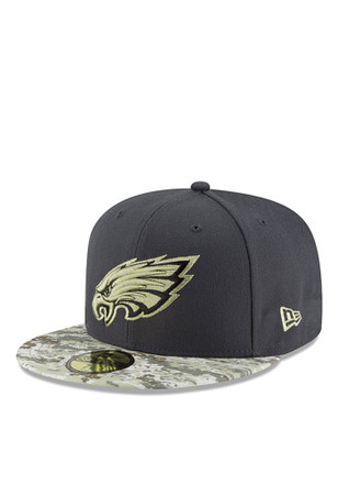 Philadelphia New Era Mens Green 2016 STS 59FIFTY Fitted Hat