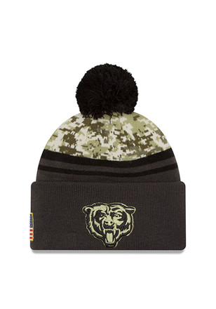 New Era Chicago Bears Green 2016 STS Knit Hat