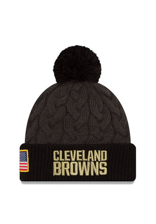 New Era Cleveland Browns Green 2016 STS Knit Hat