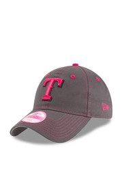 New Era Texas Gray 2016 Mothers Day LS 9TWENTY Adjustable Hat
