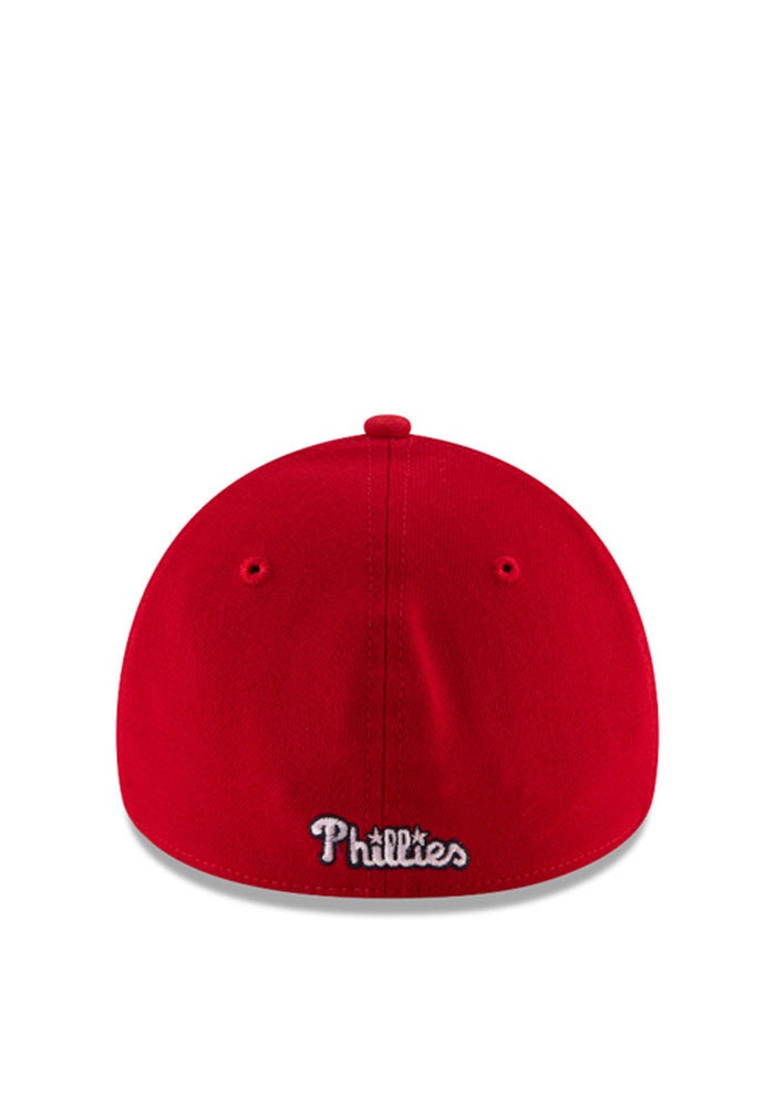 New Era Philadelphia Phillies Mens Red 2016 4th of July 39THIRTY Flex Hat - Image 3