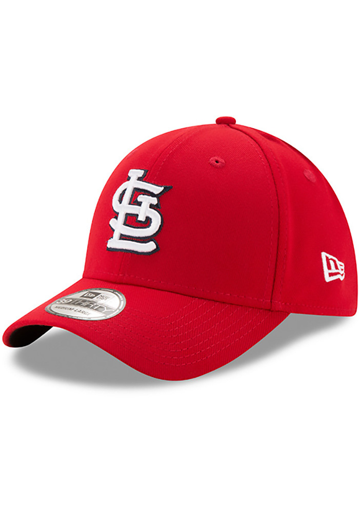 St Louis Cardinals Red Game Team Classic 39THIRTY Youth Flex Hat - Image 1