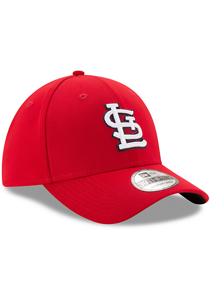 St Louis Cardinals Red Game Team Classic 39THIRTY Youth Flex Hat - Image 2
