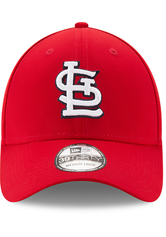 St Louis Cardinals Red Game Team Classic 39THIRTY Youth Flex Hat - Image 3