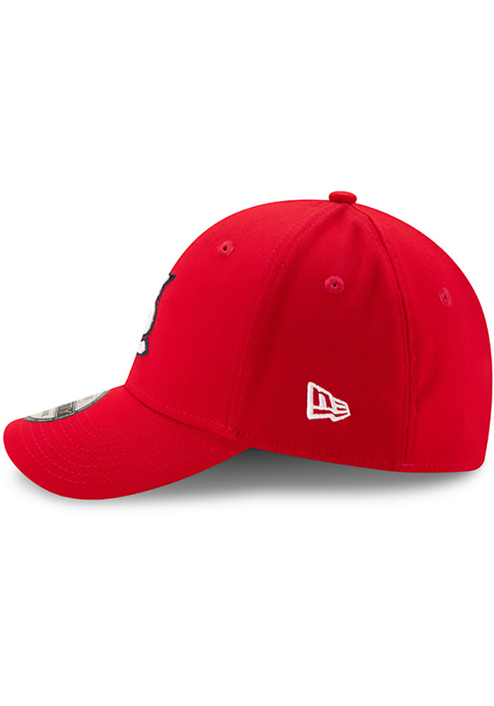 St Louis Cardinals Red Game Team Classic 39THIRTY Youth Flex Hat - Image 4