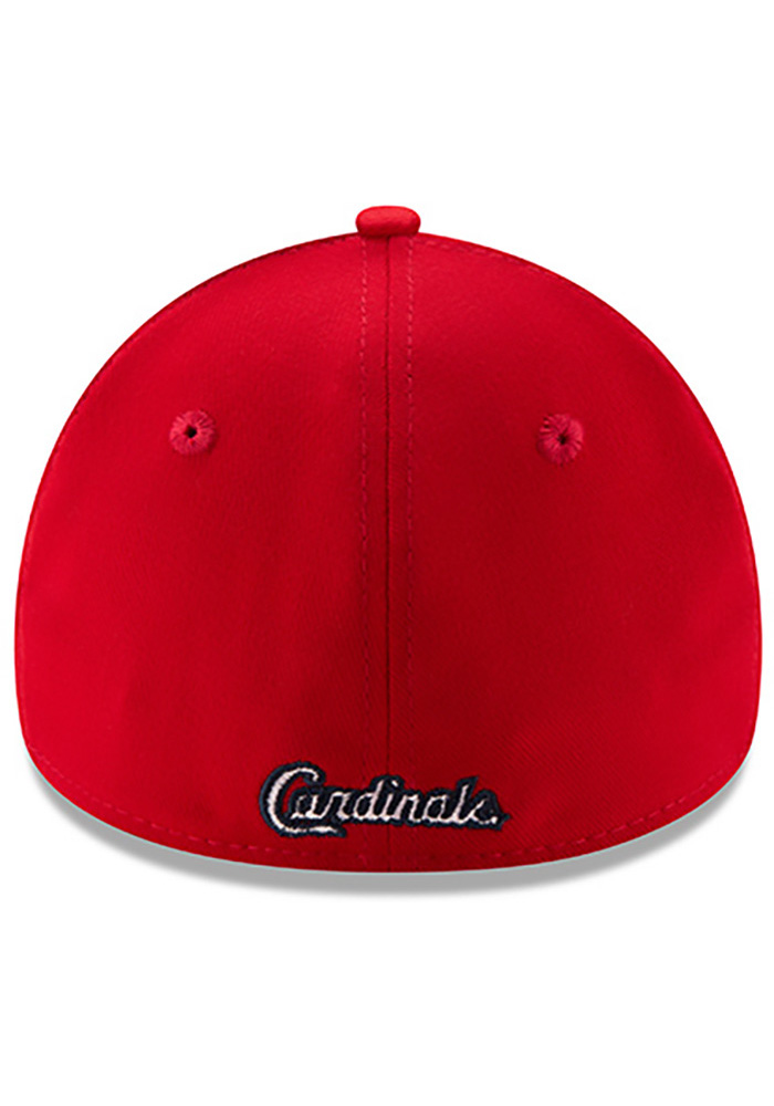 St Louis Cardinals Red Game Team Classic 39THIRTY Youth Flex Hat - Image 5
