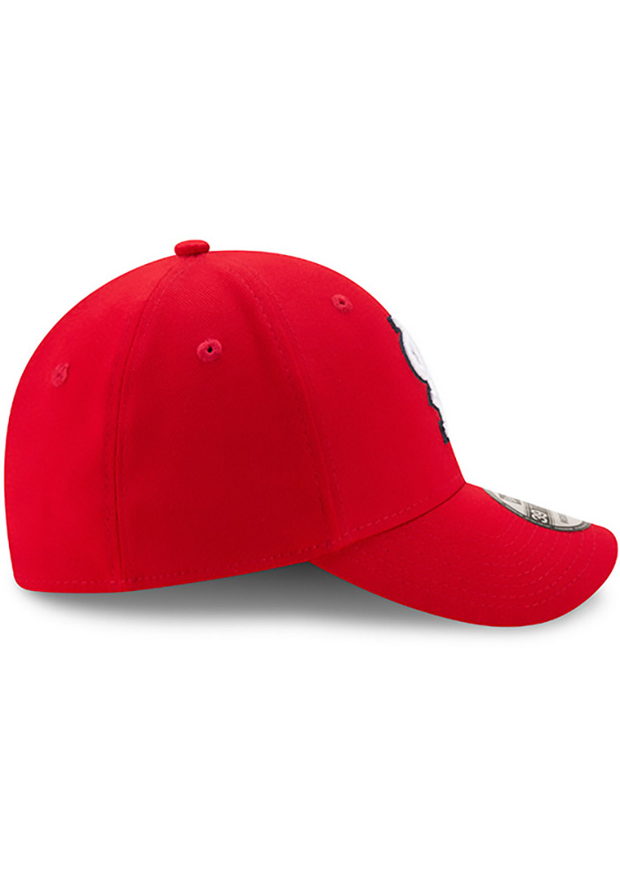 St Louis Cardinals Red Game Team Classic 39THIRTY Youth Flex Hat - Image 6