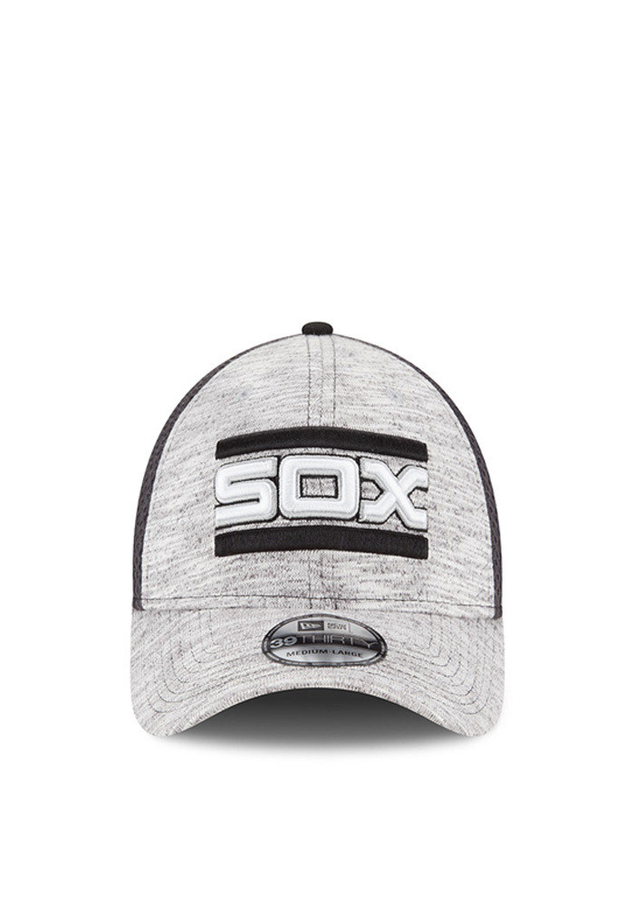 New Era Chicago White Sox Mens Grey 2016 Clubhouse Flex Hat - Image 3