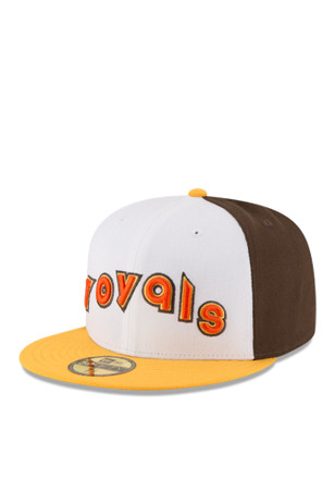 Kansas City Royals New Era Mens Brown 2016 Home Run Derby 59FIFTY Fitted Hat