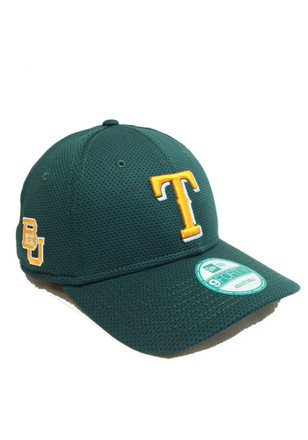 New Era Texas Rangers Mens Green Co Branded 9FORTY Adjustable Hat