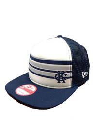 Kansas City Athletics New Era Rally Stripe 9FIFTY Snapback - Navy Blue