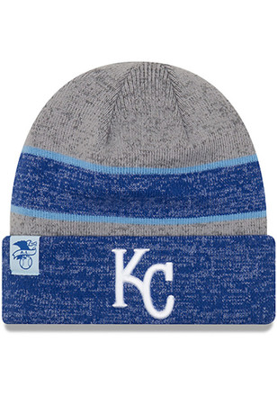 New Era Kansas City Royals Grey 2017 Sport Kids Knit Hat