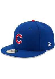 Chicago Cubs New Era Blue AC Game 59FIFTY Fitted Hat