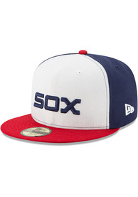 Chicago White Sox New Era Black AC Alt 59FIFTY Fitted Hat