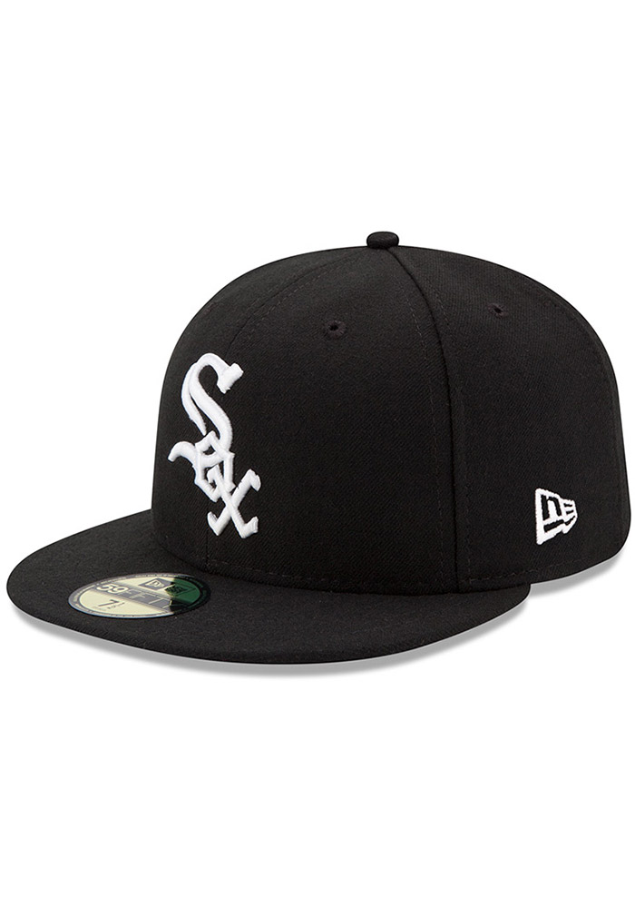 100% genuine best service authorized site New Era Chicago White Sox Mens White AC Game 59FIFTY Fitted Hat
