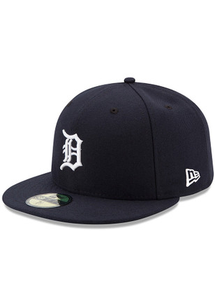 Detroit Tigers New Era Mens Orange AC Home 59FIFTY Fitted Hat