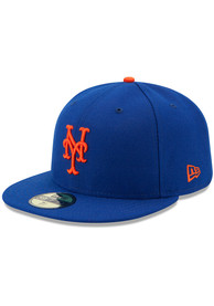 New York Mets New Era AC Game 59FIFTY Fitted Hat - Blue