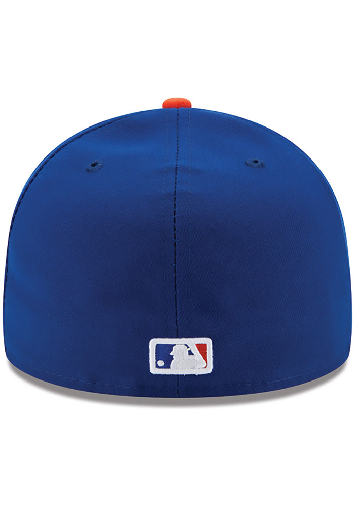New Era New York Mets Mens Blue AC Game 59FIFTY Fitted Hat - Image 4