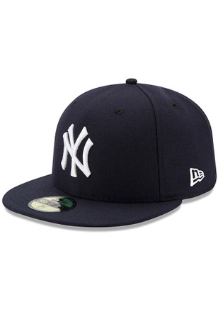 New York Yankees New Era Mens Blue AC Game 59FIFTY Fitted Hat