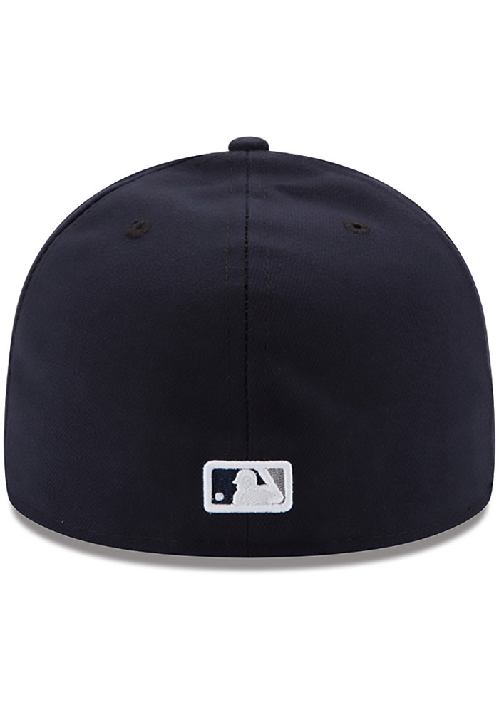 New Era New York Yankees Mens Blue AC Game 59FIFTY Fitted Hat - Image 4