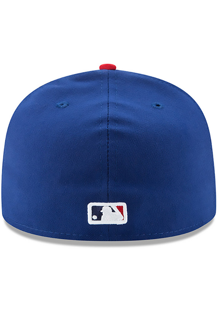New Era Philadelphia Phillies Mens Blue AC Alt 59FIFTY Fitted Hat - Image 5