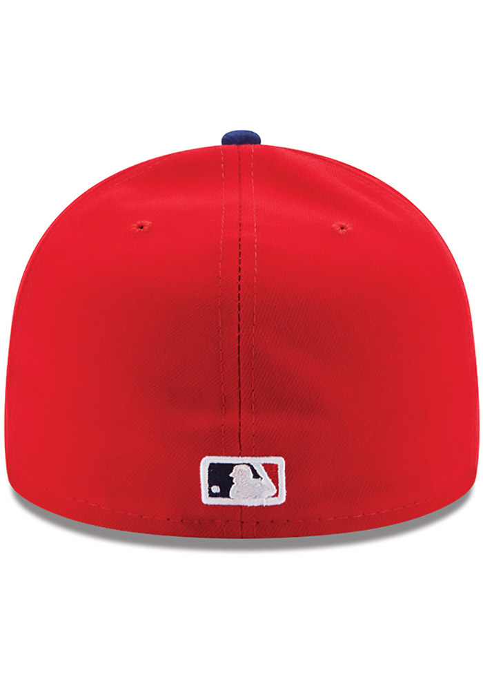 New Era Philadelphia Phillies Mens Red AC GAME 59FIFTY Fitted Hat - Image 4