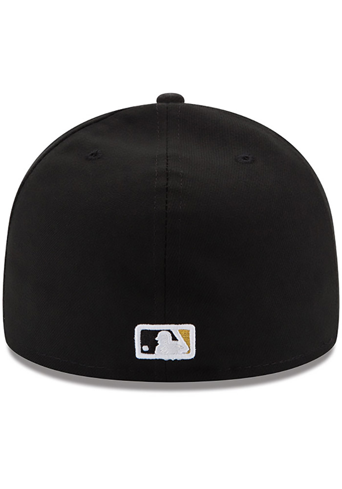 New Era Pittsburgh Pirates Mens Yellow AC Game 59FIFTY Fitted Hat - Image 4
