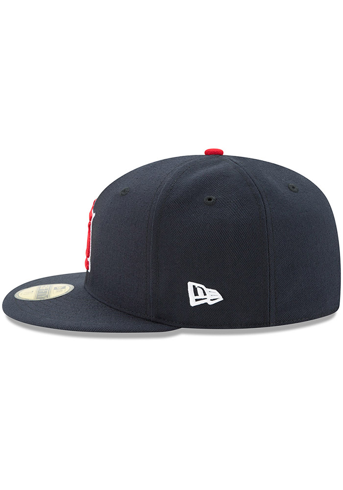 New Era St Louis Cardinals Mens Navy Blue AC Alt 59FIFTY Fitted Hat - Image 4