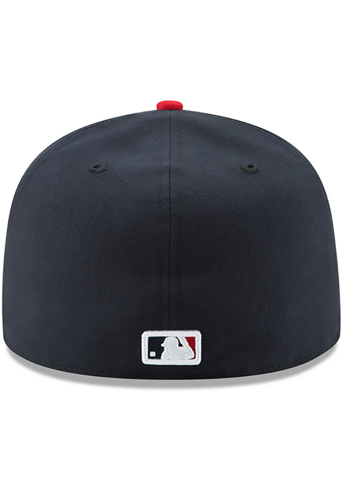 New Era St Louis Cardinals Mens Navy Blue AC Alt 59FIFTY Fitted Hat - Image 5