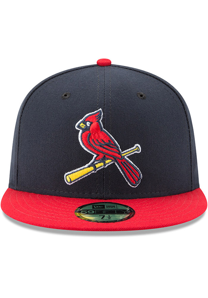 New Era St Louis Cardinals Mens Red AC Alt2 59FIFTY Fitted Hat - Image 3