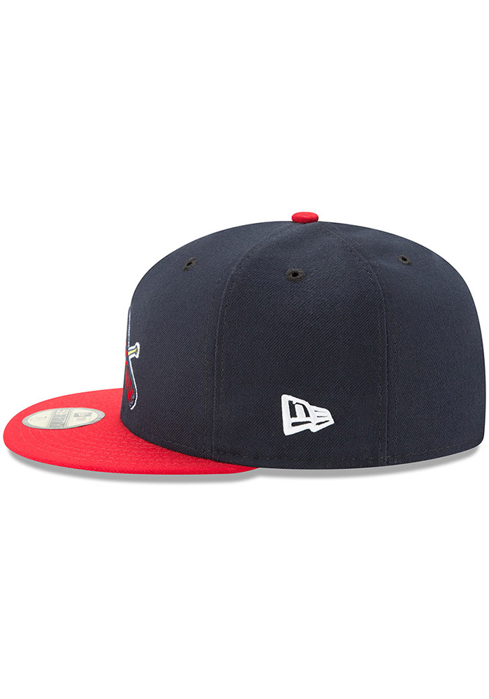 New Era St Louis Cardinals Mens Red AC Alt2 59FIFTY Fitted Hat - Image 4