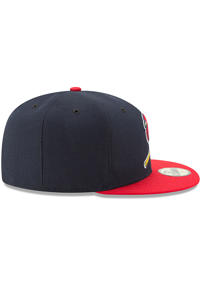 New Era St Louis Cardinals Mens Red AC Alt2 59FIFTY Fitted Hat - Image 6