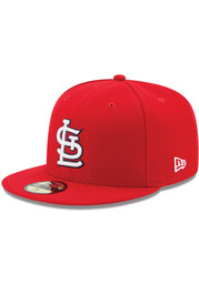 St Louis Cardinals New Era Red AC Game 59FIFTY Fitted Hat