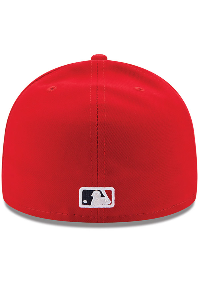 New Era St Louis Cardinals Mens Red AC Game 59FIFTY Fitted Hat - Image 4